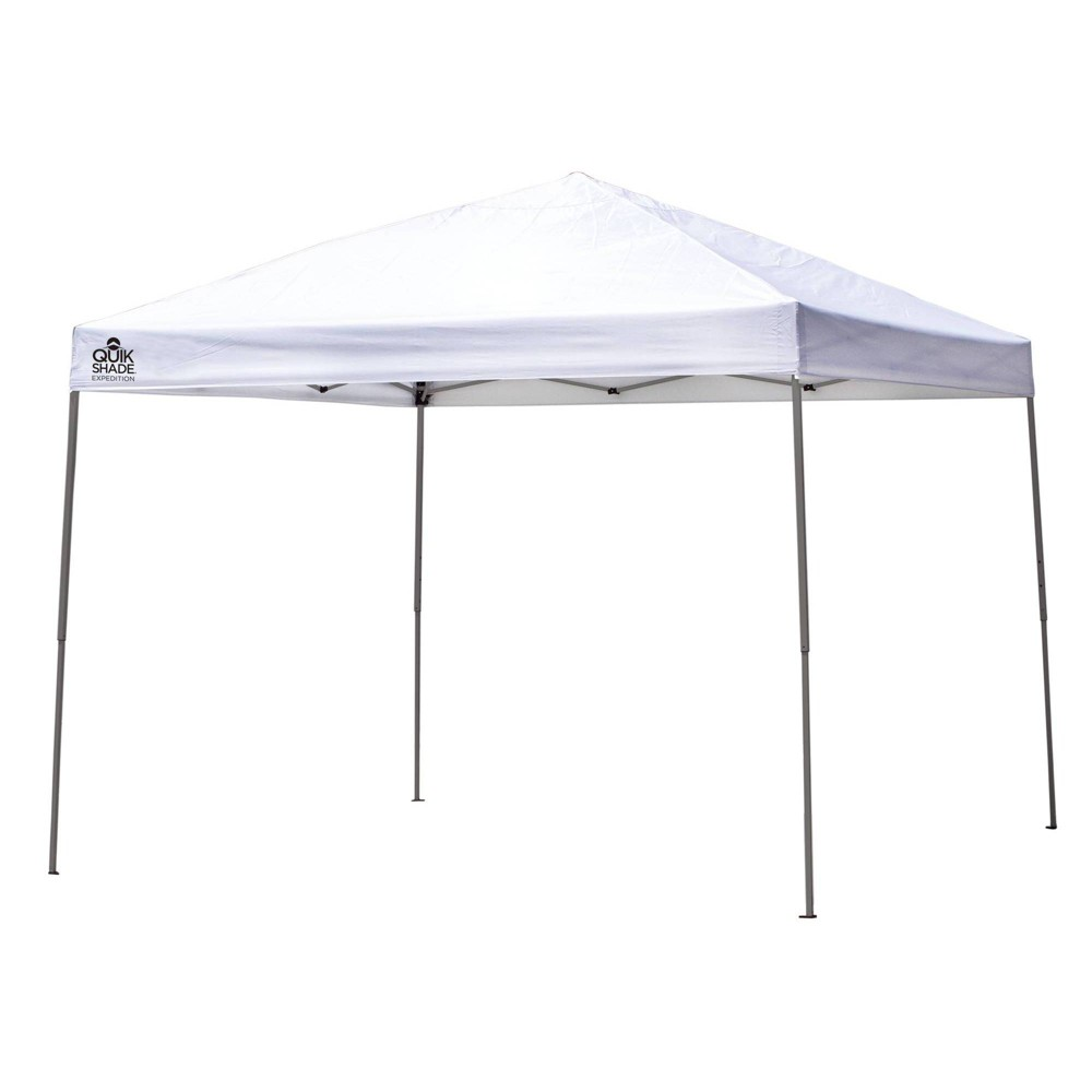 Quik Shade Expedition One Push 10x10 Straight Leg Canopy - White