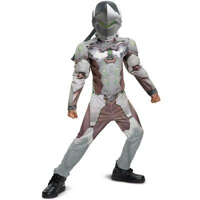 Overwatch Genji Classic Muscle Child Costume