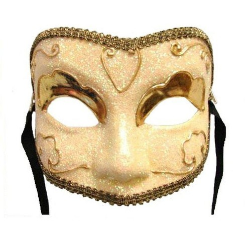 Bauer Pacific Imports Golden Lady Eye Venetian Masquerade Mardi Gras Mask Target