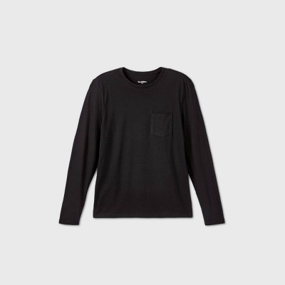 Men's Novelty Crewneck Long Sleeve T-Shirt - Goodfellow & Co™