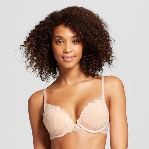 Women's High Apex Lace Push Up Bra - Xhilaration™ - image 1 of 3