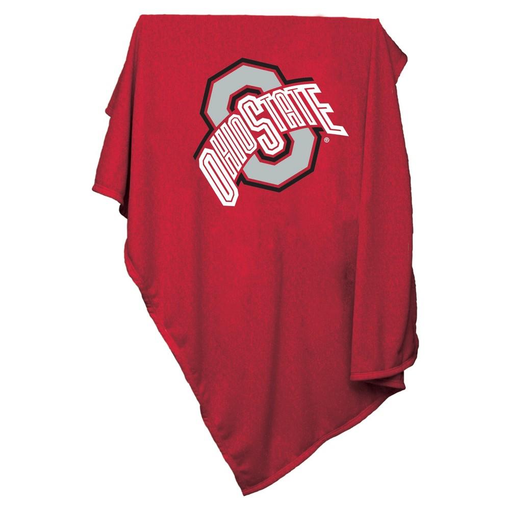 NCAA Ohio State Buckeyes Logo Brands Sweatshirt Blanket
