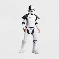 Boys' Star Wars Episode VIII Photoreal Stormtrooper Costume