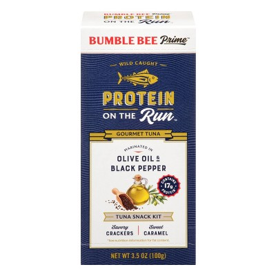 Bumble Bee Protein On the Run Olive Oil and Black Pepper - 3.5oz