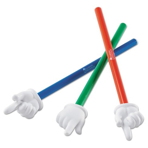 "Learning Resources Hand Pointers Set, 15"", Assorted Colors, 3/Set - image 1 of 1"