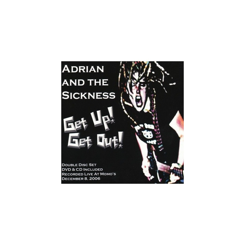 Adrian And The Sickn - Get Up Get Out (CD)
