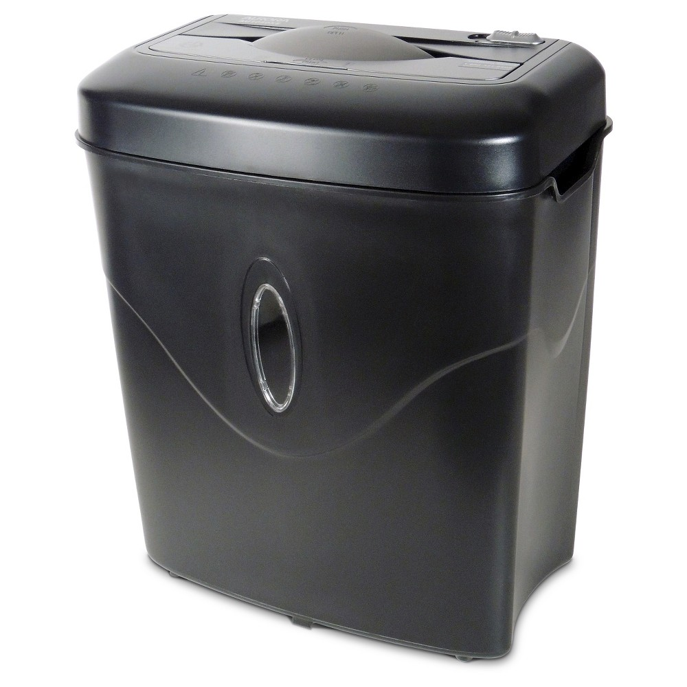 Aurora 10 Sheet Paper Shredder with Wastebasket Black - AU1050XE