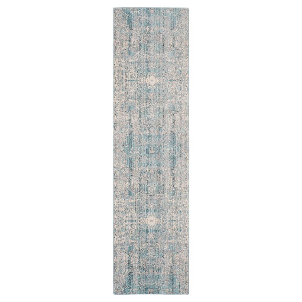 Mystique Rug - Teal- (2'3x12') - Safavieh, Blue