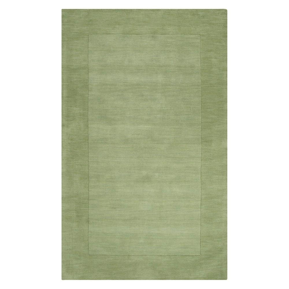 Light Green Solid Woven Area Rug - (8'X11') - Surya