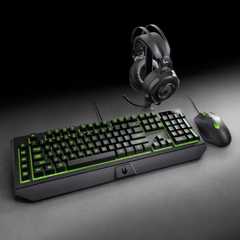 Lexma Phantom Gaming Starter Kit with Headset, Mouse and Keyboard - Black