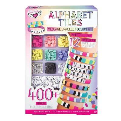 Fashion Angels Alphabet Tiles Bracelet Design Kit