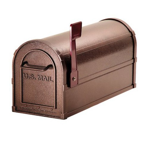 Deluxe Heavy Duty Rural Mailbox - Mocha - image 1 of 1
