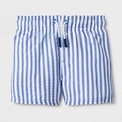 Baby Boys' Swim Trunks - Cat & Jack™ Blue 18M