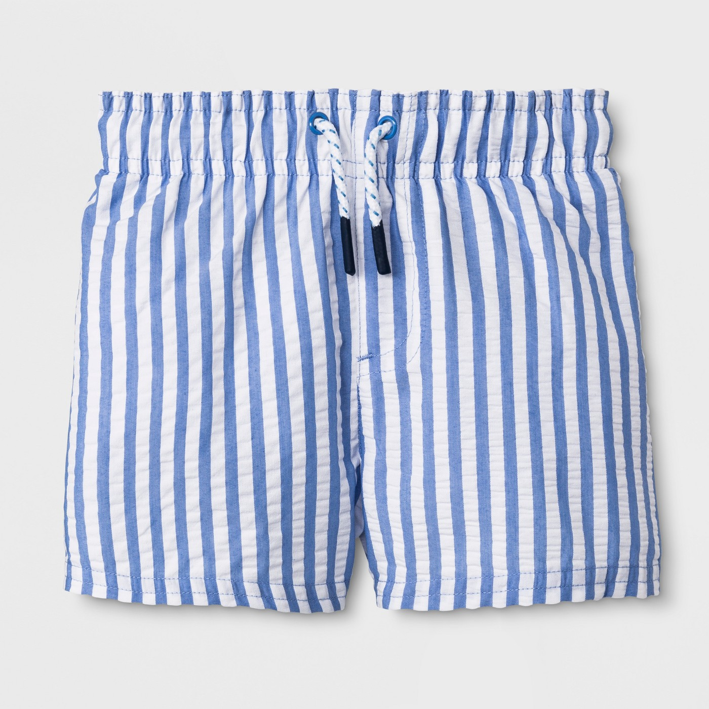 Baby Boys' Swim Trunks - Cat & Jack™ Blue - image 1 of 1