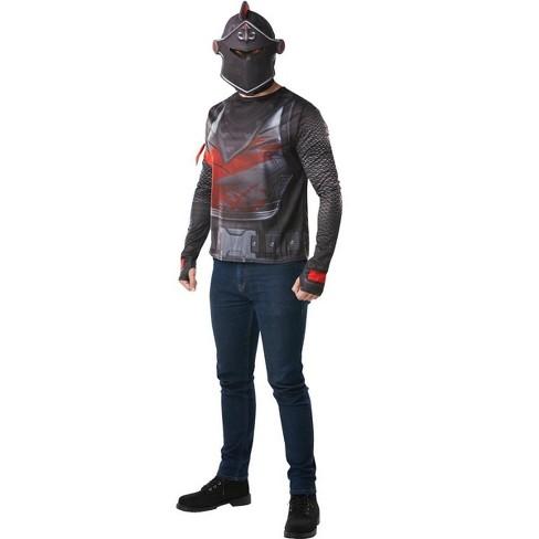 Rubie's Fortnite Black Knight Adult Costume Top & Mask - image 1 of 1