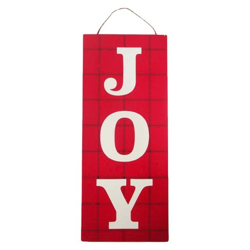 Joy Hanging Sign Wondershop Target