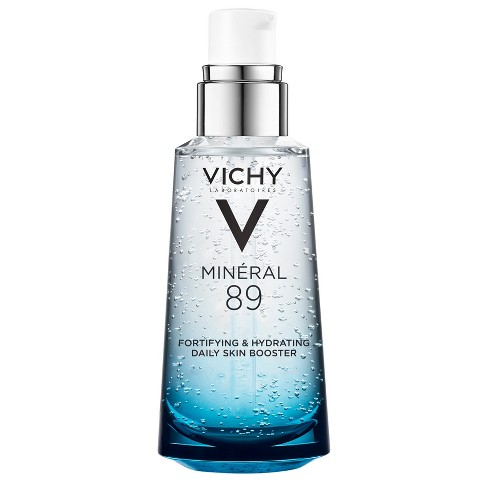 Vichy Mineral 89 Hyaluronic Acid Face Serum Moisturizer Daily Skin Booster - 1.69oz - image 1 of 4