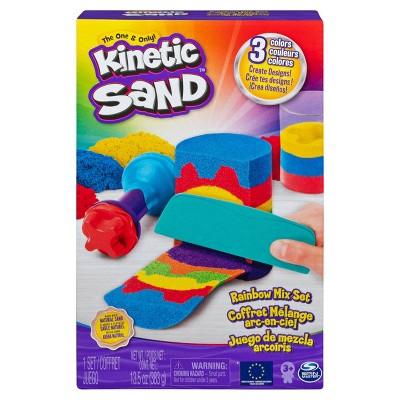 Kinetic Sand Rainbow Mix Set