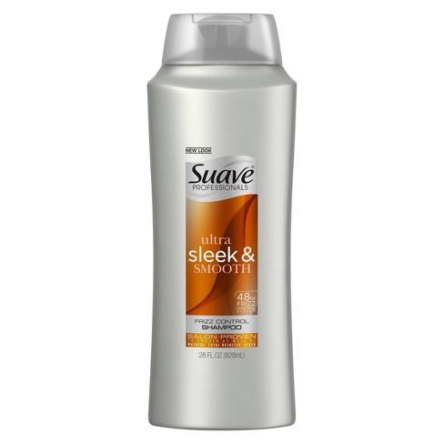Suave Professionals Ultra Sleek & Smooth Frizz Control Shampoo - 28 fl oz - image 1 of 4