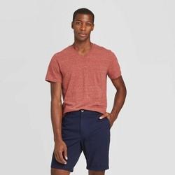 Men's Standard Fit Short Sleeve V-Neck Novelty T-Shirt - Goodfellow & Co™