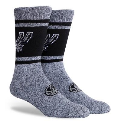 NBA San Antonio Spurs Varsity Crew Socks - L