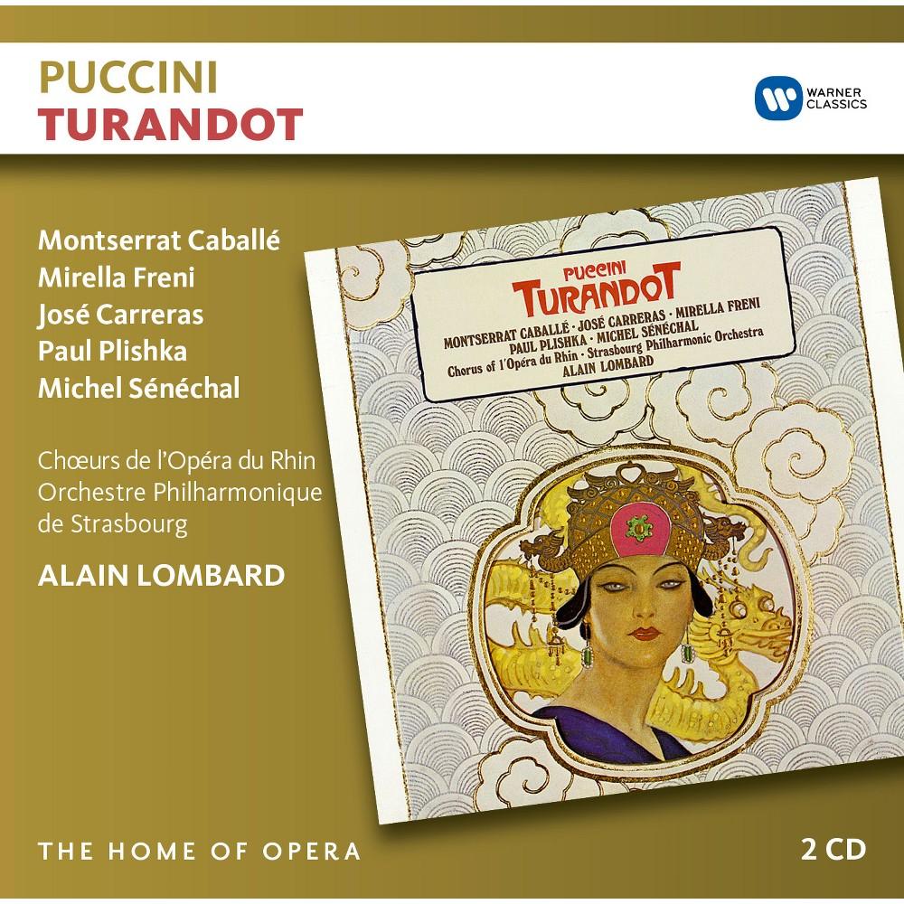 Alain Lombard - Puccini:Turandot (CD)