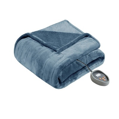 Microlight Berber Electric Blanket - Beautyrest