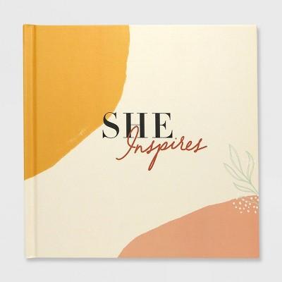 Green Inspired She Inspires Gift Book