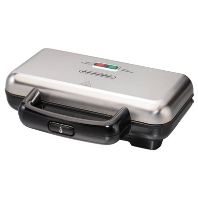 Proctor Silex Deluxe Hot Sandwich Maker - Gray
