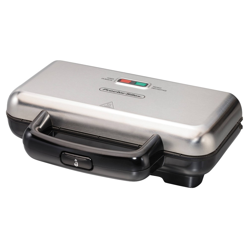 Image of Proctor Silex Deluxe Hot Sandwich Maker - Gray