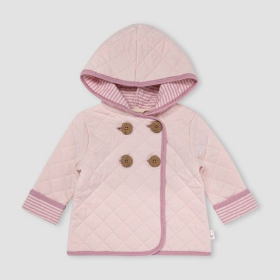 Burt's Bees Baby® Baby Girls' Quilted Jacket - Light Pink