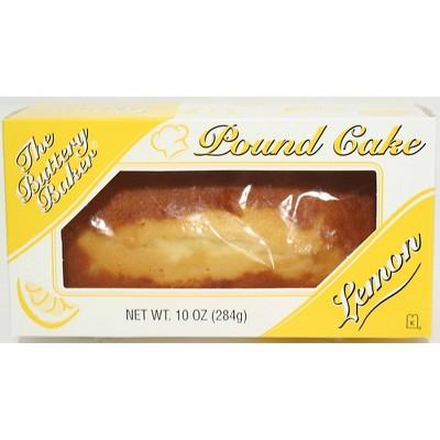 The Buttery Baker Lemon Pound Cake - 10oz
