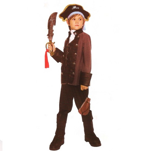 Northlight Gray and Black Pirate Boy Halloween Children's Costume - 3-4 Years - image 1 of 1