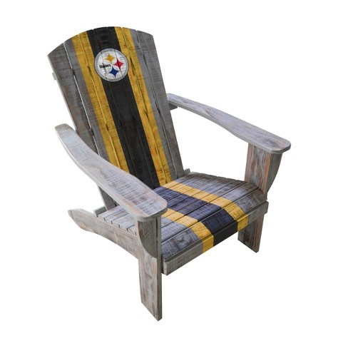 NFL Pittsburgh Steelers Wooden Adirondack Chair - image 1 of 2