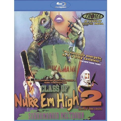 Class Of Nuke 'em High, Part Ii: Subhumanoid Meltdown (Blu-ray) - image 1 of 1