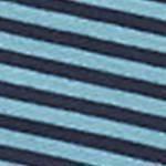 Turquoise/Navy Stripe