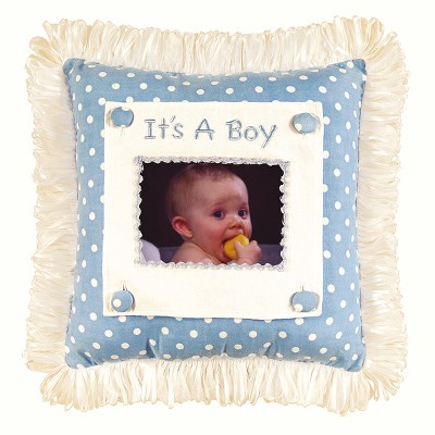 """C&F Home 14"""" x 14"""" Boy Picture Picture Pillow"""