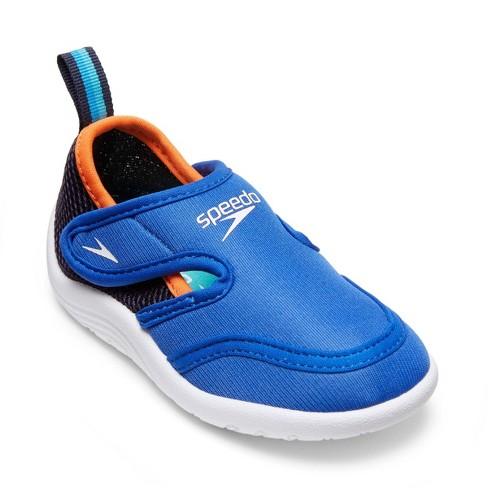 Speedo Toddler Boys' Hybrid Water Shoes - Royal Blue S : Target
