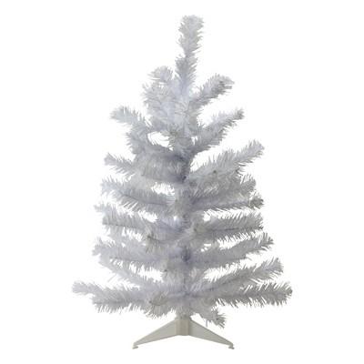 Northlight 2' Unlit Artificial Christmas Tree White Balsam Mini Pine