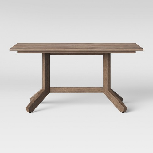 """Newfield 60"""" Rectangle Farmhouse Dining Table - Threshold™ - image 1 of 4"""