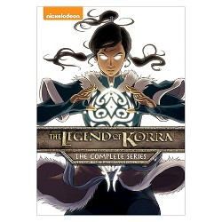 Legend of Korra: The Complete Series (DVD)