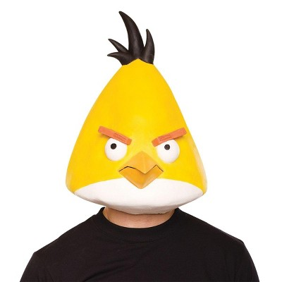 Paper Magic Group Angry Birds Yellow Latex Costume Mask