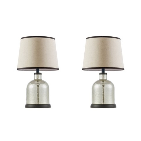 2pc Sidney Table Lamp Clear (Lamp Only) - image 1 of 4
