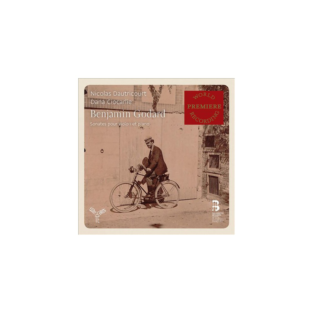 Nicolas Dautricourt - Godard:Sonatas For Violin & Piano (CD)