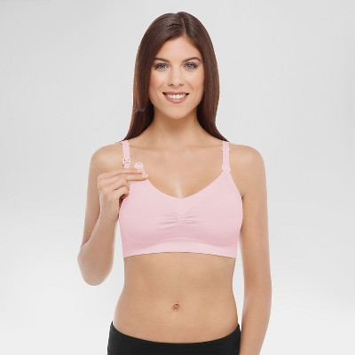 Medela Women's Nursing Seamless Bra - Light Pink S