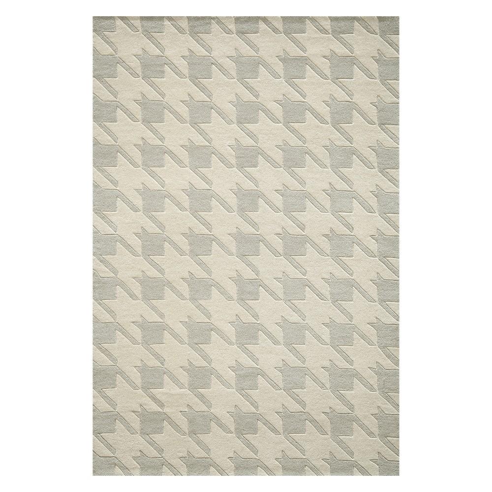8'X10' Geometric Tufted Area Rug Gray - Momeni