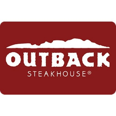 Outback Steakhouse Gift Card (Email Delivery) - image 1 of 1