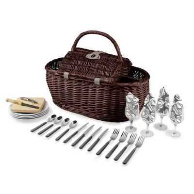 Picnic Time® 8pc Gondola Picnic Basket