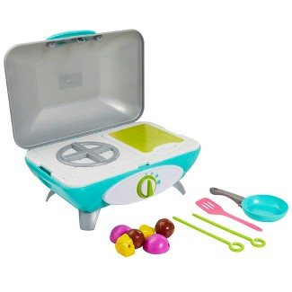 Perfectly Cute Lets Get Cooking Reversible Stovetop and Grill with Realistic Sounds