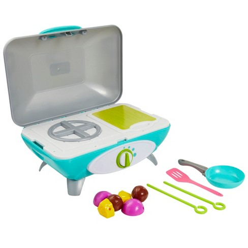 Perfectly Cute Let's Get Cooking Stovetop and Grill 11pc Set - image 1 of 4